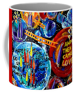 Coffee Mug featuring the painting Then Came Love by Jackie Carpenter