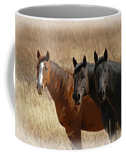Three Horses Coffee Mug