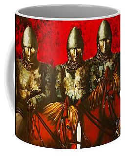 Three Knights Coffee Mug
