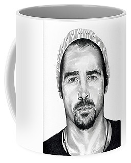 Total Recall  Colin Farrell Coffee Mug