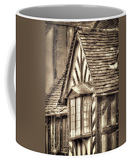 Coffee Mug featuring the photograph Tudor Style Buildings by Susan Leonard