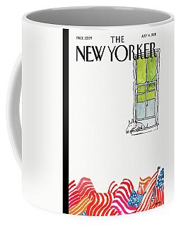 New Yorker July 4th, 2011 Coffee Mug