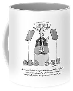 Let Me Assure The American People That Coffee Mug