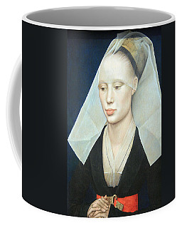 Coffee Mug featuring the photograph Van Der Weyden's Portrait Of A Lady by Cora Wandel