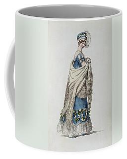 Walking Dress, Fashion Plate Coffee Mug
