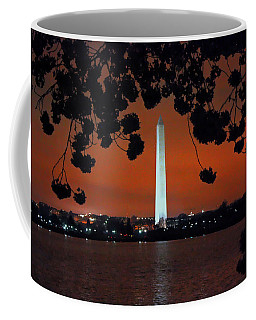 Coffee Mug featuring the photograph Washington Monument by Suzanne Stout