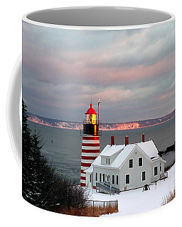 West Quoddy Head Lighthouse Coffee Mug