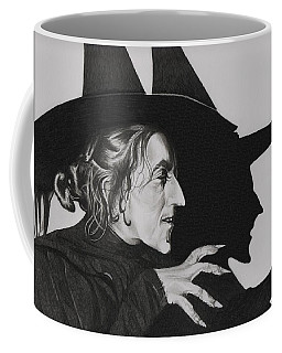 Wicked Witch Of The West Coffee Mug by Fred Larucci