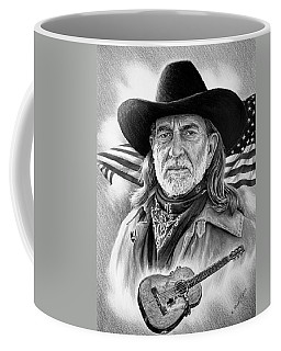 Willie Nelson American Legend Coffee Mug