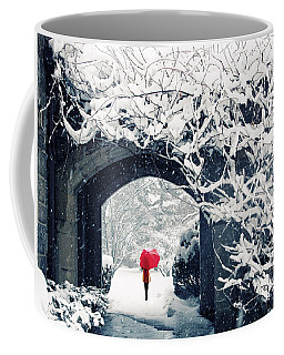 Winter's Lace Coffee Mug