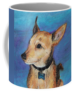 Coffee Mug featuring the painting Zack by Jeanne Fischer