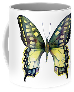 20 Old World Swallowtail Butterfly Coffee Mug