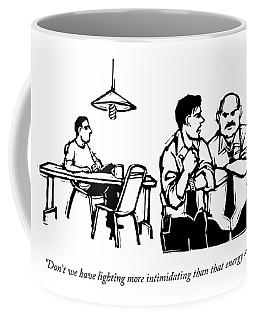 Don't We Have Lighting More Intimidating Than Coffee Mug