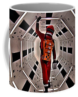 2001 A Space Odyssey Coffee Mug