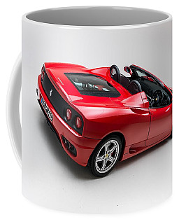 Coffee Mug featuring the photograph 2002 Ferrari 360 Spider by Gianfranco Weiss