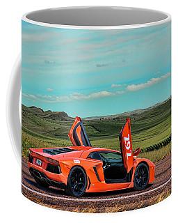 2012 Lamborghini Aventador Coffee Mug