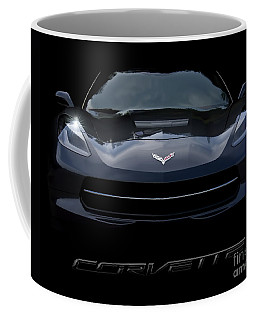 2014 Corvette With Emblem Coffee Mug