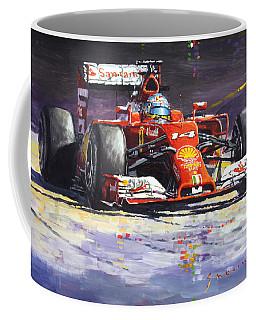 2014 Ferrari F14t Fernando Alonso  Coffee Mug