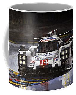 2014 Le Mans 24 Porsche 919 Hybrid  Coffee Mug