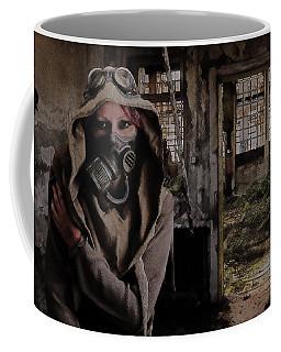 2050 Post Apocalyptic Scene Coffee Mug