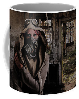 2050 Post Apocalyptic Scene Coffee Mug