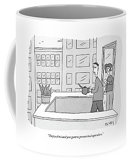 They've Eliminated Your Grant To Promote Local Coffee Mug