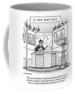 24-hour Blues Cycle Coffee Mug