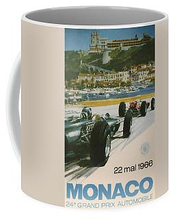 24th Monaco Grand Prix 1966 Coffee Mug