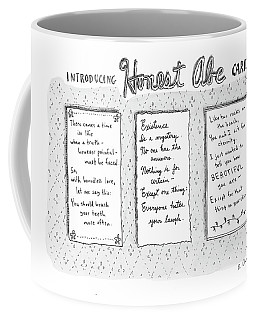 Introducing Honest Abe Cards Coffee Mug