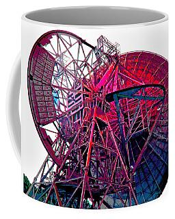 26 East Antenna Abstract 4 Coffee Mug