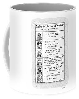 New Yorker April 11th, 2005 Coffee Mug