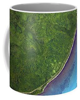 Iceland Aerial Photo Coffee Mug