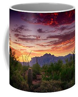 A Superstition Sunrise  Coffee Mug
