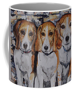 3 Amigo Beagles Coffee Mug