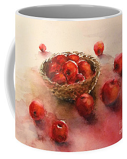 Apples  Apples Coffee Mug by Yoshiko Mishina