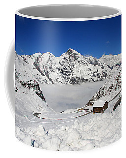 Coffee Mug featuring the photograph Austrian Mountains by Susan Leonard