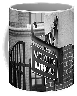 Baseball Warning Coffee Mug
