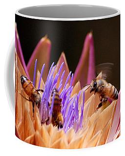 Bees In The Artichoke Coffee Mug