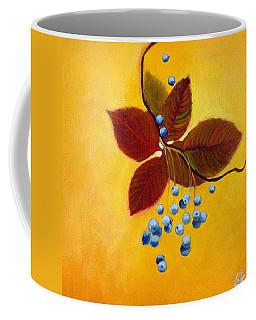 Blue On Yellow Coffee Mug