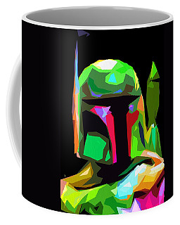 Boba Fett Star Wars Coffee Mug by Daniel Janda