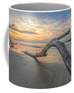 Bough In Ocean Coffee Mug by Peter Lakomy