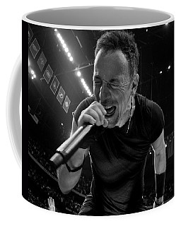 Coffee Mug featuring the photograph Bruce Springsteen by Jeff Ross