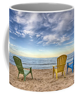 3 Chairs Coffee Mug