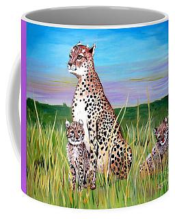 Cheetah Family Coffee Mug