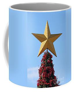 Coffee Mug featuring the photograph Christmas Star by George Atsametakis