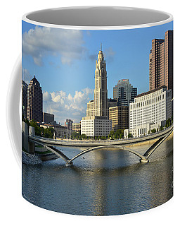 Columbus Ohio Skyline Photo Coffee Mug