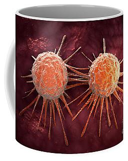 Conceptual Image Of Cancer Virus Coffee Mug