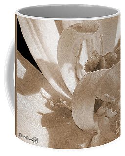 Double Late Tulip Named Angelique Coffee Mug