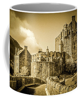 Coffee Mug featuring the photograph Eilean Donan Castle by Susan Leonard