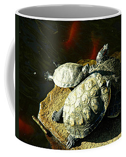 Coffee Mug featuring the photograph 3 Friends by Bruce Carpenter